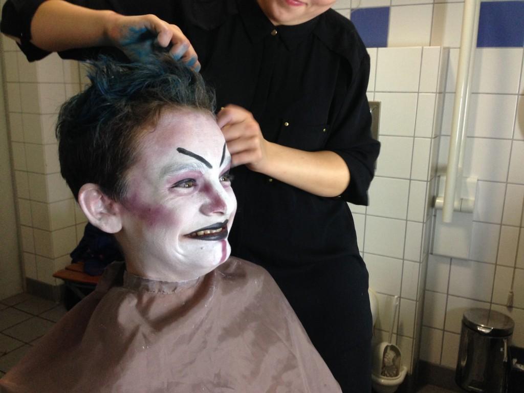 Sandkorn_Clown_Maske_Dreh_Set